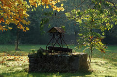 Autumn season in Brittany country Stock Photo