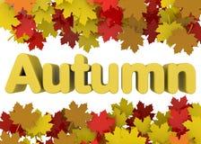 Autumn Season - 3D Fotos de archivo