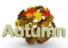 Autumn Season - 3D Fotografía de archivo