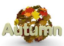 Autumn Season - 3D Stock Photography