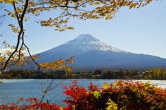 Autumn Season in Mt.Fuji Stock Photography