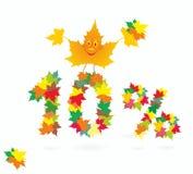 Autumn season sale Royalty Free Stock Photography
