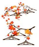 Autumn season sale design set Stock Image
