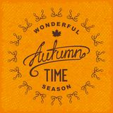 Autumn season time Stock Image
