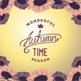 Autumn season time Royalty Free Stock Photos