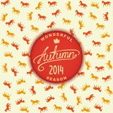 Autumn season 2014 Stock Photography