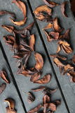 Autumn Seasonal Food Fruit sec de poire Image stock