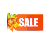 Autumn seasonal sale Stock Photo