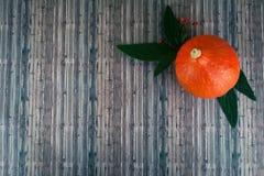 Autumn seasonal vegetables on wooden background. royalty free stock photo