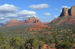 Autumn Sedona Moutain Images stock