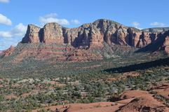 Autumn Sedona Mountain. Mountains in Autumn in Sedona, Arizona Stock Photography