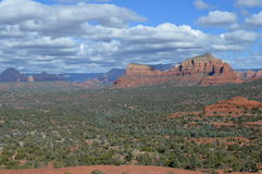 Autumn Sedona Mountains. Mountains in Autumn in Sedona, Arizona Stock Photography
