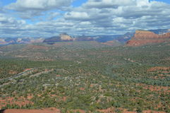 Autumn Sedona Moutains Photos libres de droits