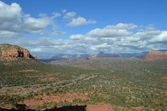 Autumn Sedona Moutains Images libres de droits