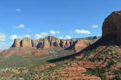 Autumn Sedona Mountains. Mountains in Autumn in Sedona, Arizona Royalty Free Stock Photography