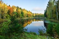 Autumn See lizenzfreie stockbilder