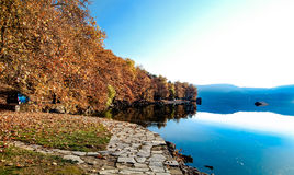 Autumn See Lizenzfreies Stockfoto