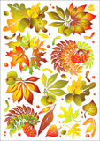 Autumn set Stock Photography