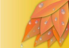 Autumn sheet Stock Image