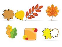 Autumn sheet Royalty Free Stock Photos
