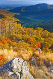 Autumn in Shenandoah National park Stock Photos
