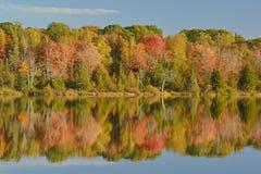 Autumn Shoreline Seneca Lake Royalty-vrije Stock Afbeelding