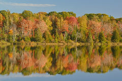 Autumn Shoreline Seneca Lake Royalty Free Stock Image