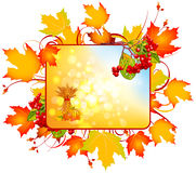 Autumn sign Royalty Free Stock Photo