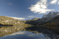 Autumn at Silver Lake in Sierra Nevada Stock Image