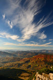 Autumn Sky. Autumn in Slovakia (Terchova Royalty Free Stock Photo
