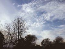 Autumn Sky Royalty-vrije Stock Afbeelding