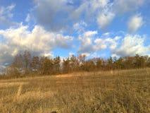 Autumn Sky imagens de stock royalty free