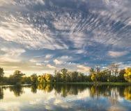 Autumn sky. Stock Photo