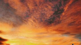 Autumn sky. In London Royalty Free Stock Photos