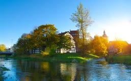 Autumn in Slupsk Royalty Free Stock Photography