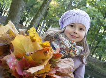 Autumn smile Royalty Free Stock Photo