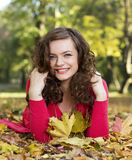 Autumn smile Royalty Free Stock Image