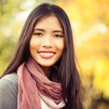 Autumn Smile Imagem de Stock