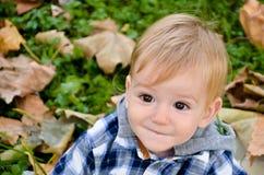 Autumn Smile Photographie stock libre de droits