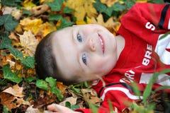 Autumn Smile Foto de Stock Royalty Free