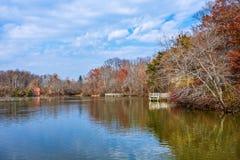 Autumn Smithville Lake photo stock