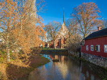 Autumn in Soderkoping, Sweden Royalty Free Stock Image