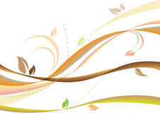 Autumn soft background. Autumn soft brown background, leaves Royalty Free Stock Image