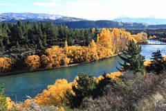 Autumn in South Island New Zealand. Stock Images