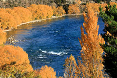 Autumn in South Island New Zealand. Royalty Free Stock Image