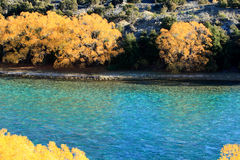 Autumn in South Island New Zealand. Royalty Free Stock Photos