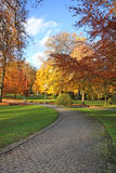 Autumn spa gardens. Royalty Free Stock Photography