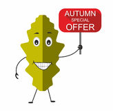 Autumn special offer Stock Image