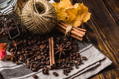 Autumn Spices Still Life stock fotografie