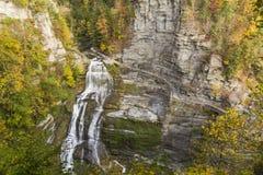 Autumn Splendor in Lucifer Falls Stock Foto